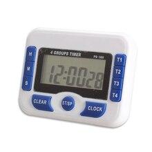 Práctico $ Number Canales Temporizador de Cuenta Atrás Digital Display Reloj Dispositivo de Temporización Precisa Azul