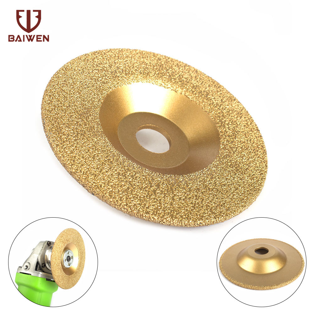 New 4inch Diamond Coated Grinding Wheel Disc High Quality 100mmx16mm Grinding Wheels For Angle Grinder Tool