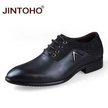 JINTOHO Big Size Men Flats Italian Dress Leather Shoes For Men Classic Italian Shoes Cheap Male Leather Moccasins Italy Shoes(China)
