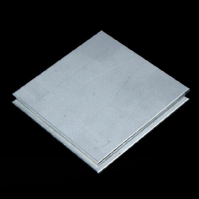 6X100x100mm pureTA2 Titanum plate Titanium alloy Strip Belt All Sizes in Stock Free Shipping