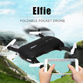 JJRC H37 RC Quadcopter Drone 0.3MP Wifi FPV Camera Real-time Transmission Altitude Foldable RTF Drone Helicopter VS H31