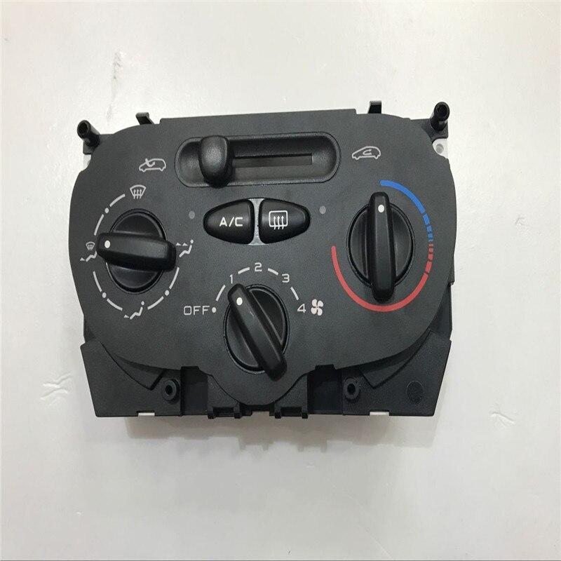 Livraison gratuite! Pour Peugeot 206 207 C2 panneau de commande de climatisation AC interrupteur manuel bouton de climatisation bouton interrupteur