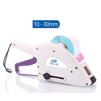 Handheld Manual Labelers Label Sticker Sticking Applicator Barcode Labelling Machine 10 30mm Y