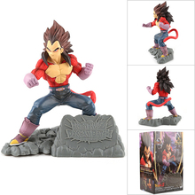 Dragon Ball Z GT Super Saiyan Son Goku Vegeta Gogeta Ação Anime Figura Kamehameha 4 Collectible Figurine DO PVC Modelo Boneca brinquedos