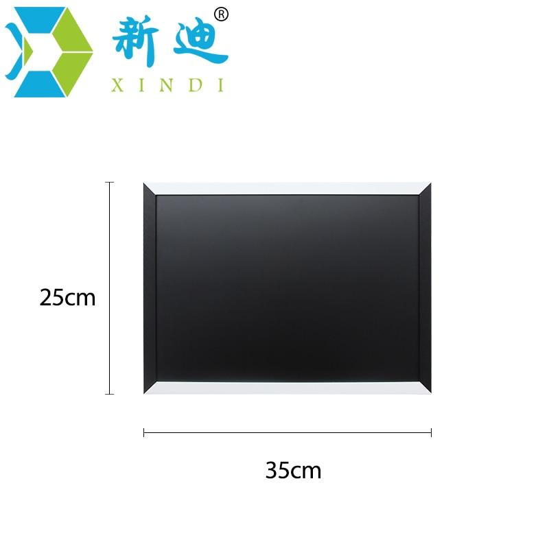 XINDI New Magnetic Blackboard MDF Black & White Wooden Frame ...