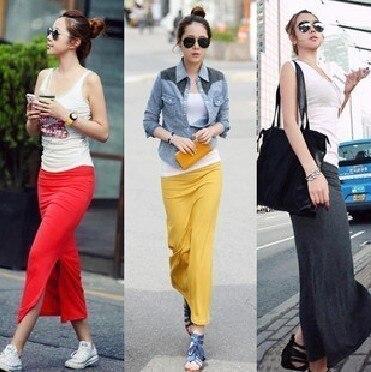 Aliexpress.com : Buy 2013summer Fashion lady Long Skirt slim full ...