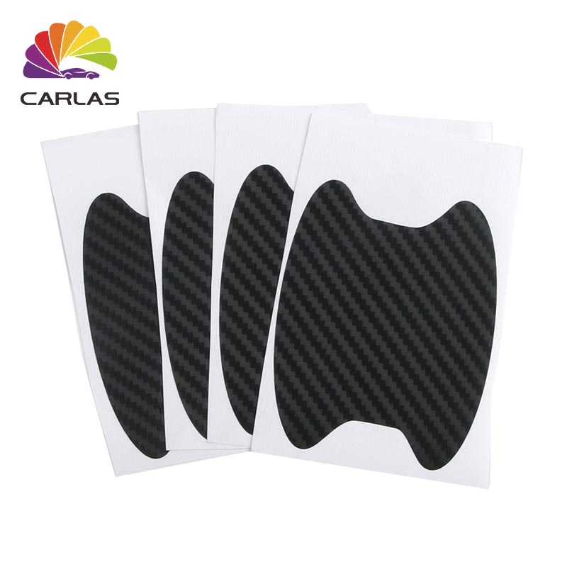 Image 4 - All Free Ship Car Handle Protection Film Universal Invisible Car Carbon Fiber Door Handle Stickers Scratches Resistant Sticker-in Car Stickers from Automobiles & Motorcycles
