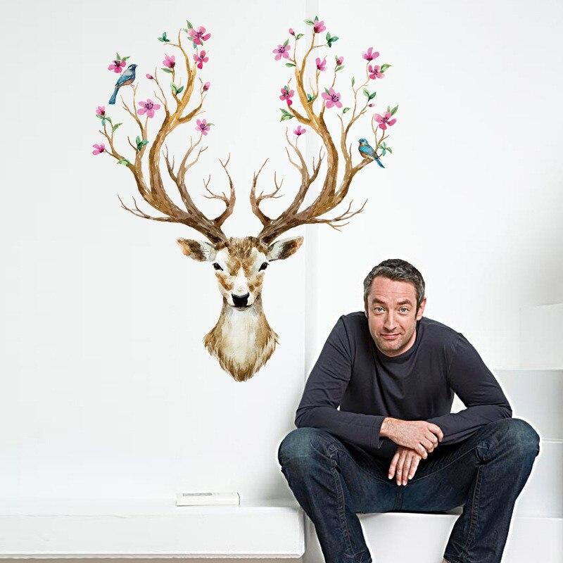 Sika Deer DIY Wall Stickers Wall Decor s