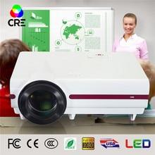 X1500 3500 lúmenes de cine en casa tv digital proyector led full hd wifi / inteligente proyector lcd 3d beamer