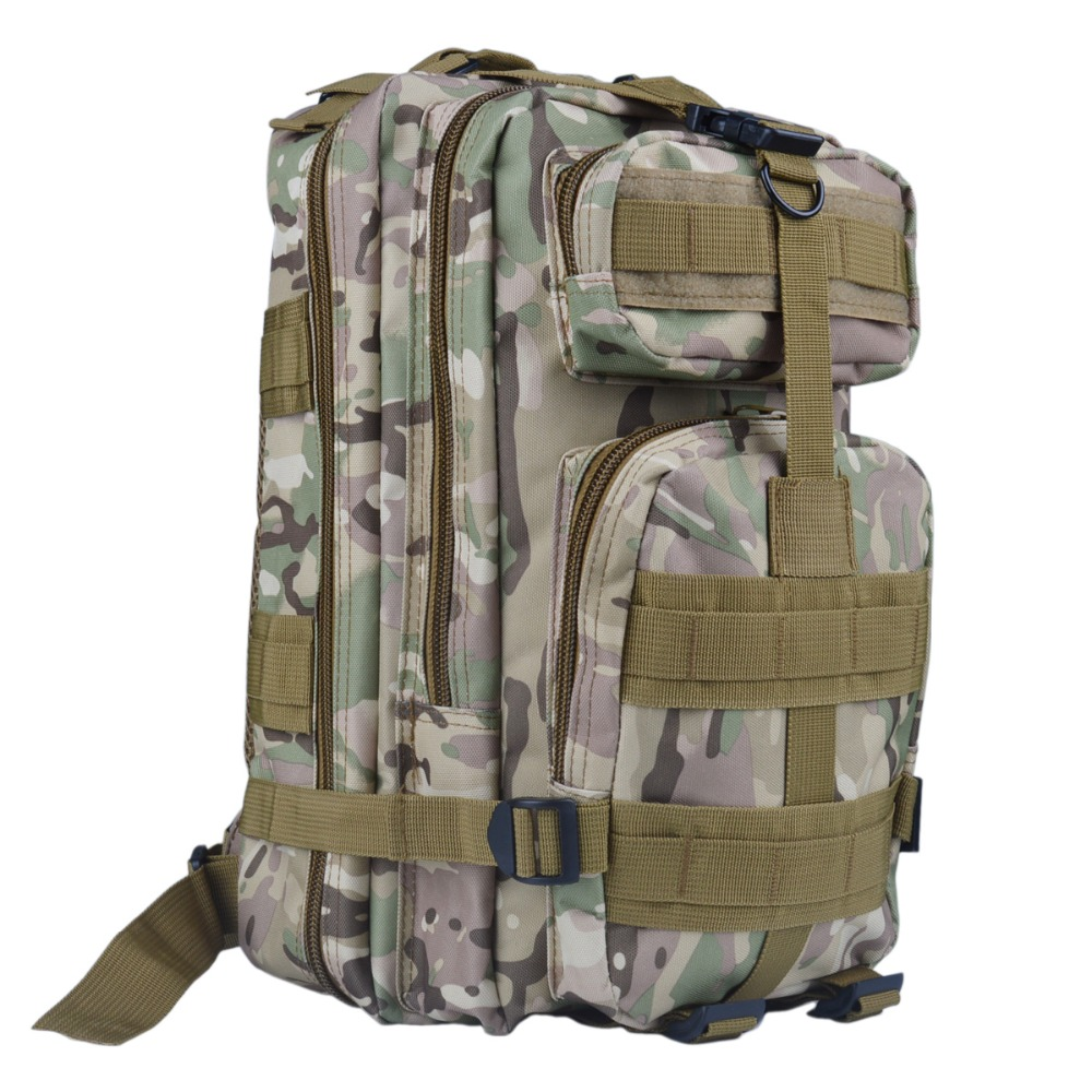 ROWLING BRAND Men backpack camouflage shoulder bag 3P canvas backpack 01