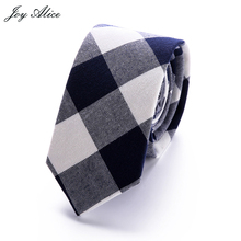 Commercial Cotton Tie Classical Color Rainbow Stitching Necktie Lovely Mens Narrow Neckties Designer Handmade Ties
