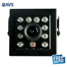 Sony CCD Effie-A 800TVL Mini IR Camera with 2.8mm or 3.6mm Lens for Vehicle Security