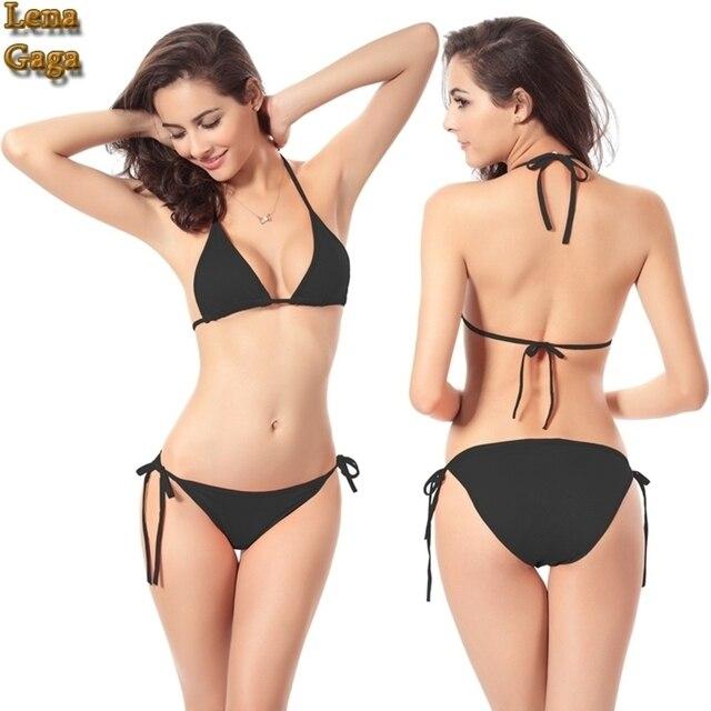c577100f0738 € 13.59 |Sexy Traje de Baño Bikini Tanga traje de Baño Mujeres Tanga  Brasileña Bikinis Mujeres Del Traje de Baño Inferior Cintura Baja del traje  de ...