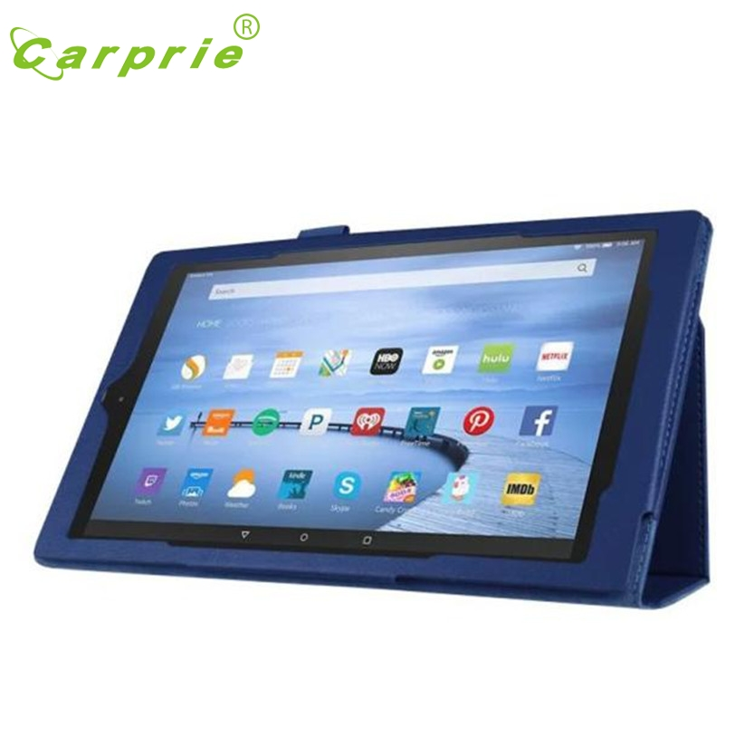 CARPRIE Leather Case Stand Cover For Amazon Fire HD10 2015 Tablet Mar1 MotherLander