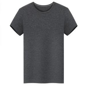 Image 5 - DEWBest Mens 100% 메리노 울 아웃 도어 크루 T 셔츠 경량 육상 여름 통기성 위킹 쿨 반소매