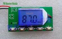 Dsp pll 디지털 무선 스테레오 오디오 fm 라디오 수신기 모듈 87 mhz ~ 108 mhz