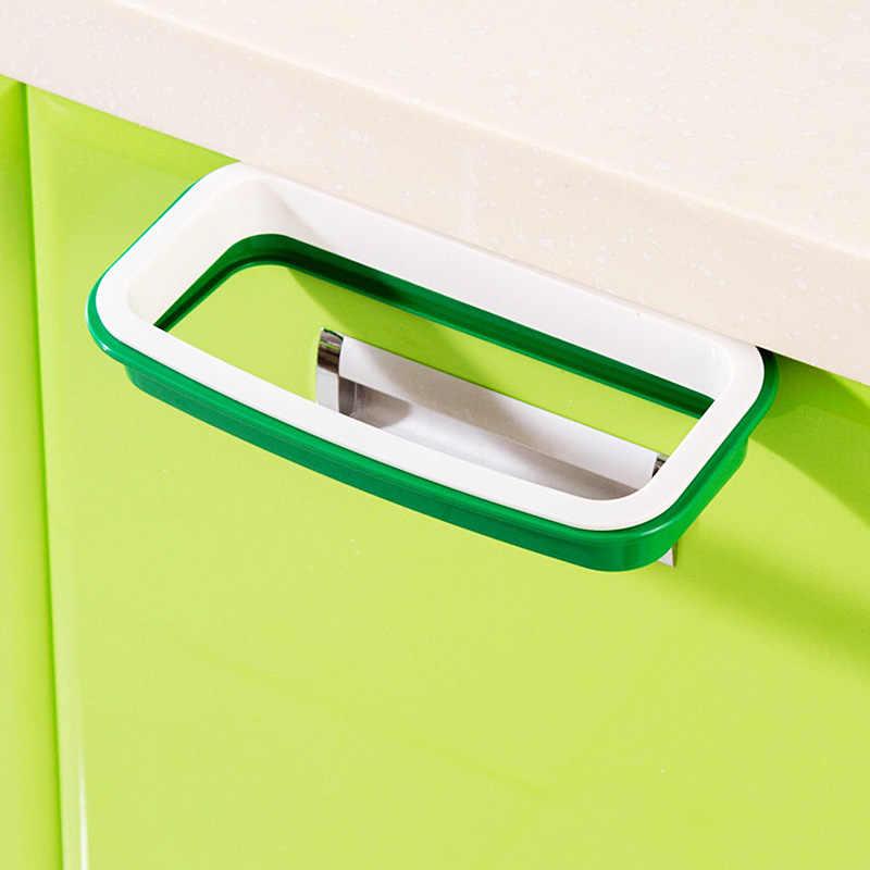 Gantung Portable Sampah Sampah Sampah Tas Sampah Rak Lemari Lemari Penyimpanan Gantungan VBL56