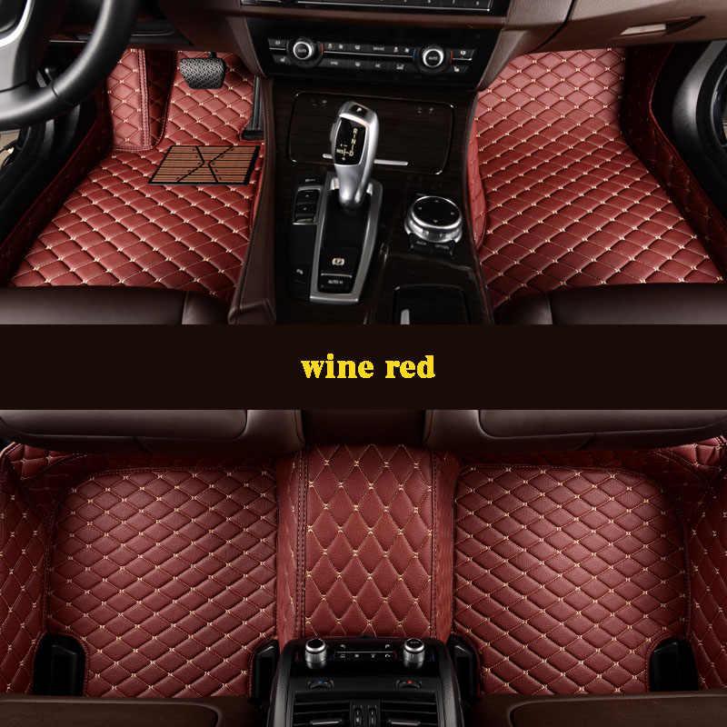 Kalaisike niestandardowe dywaniki samochodowe dla Ssangyong wszystkie modele Rodius ActYon Rexton kyron Korando car styling akcesoria samochodowe