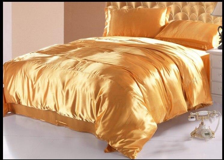 Popular Gold Silk Bedding Buy Cheap Gold Silk Bedding Lots