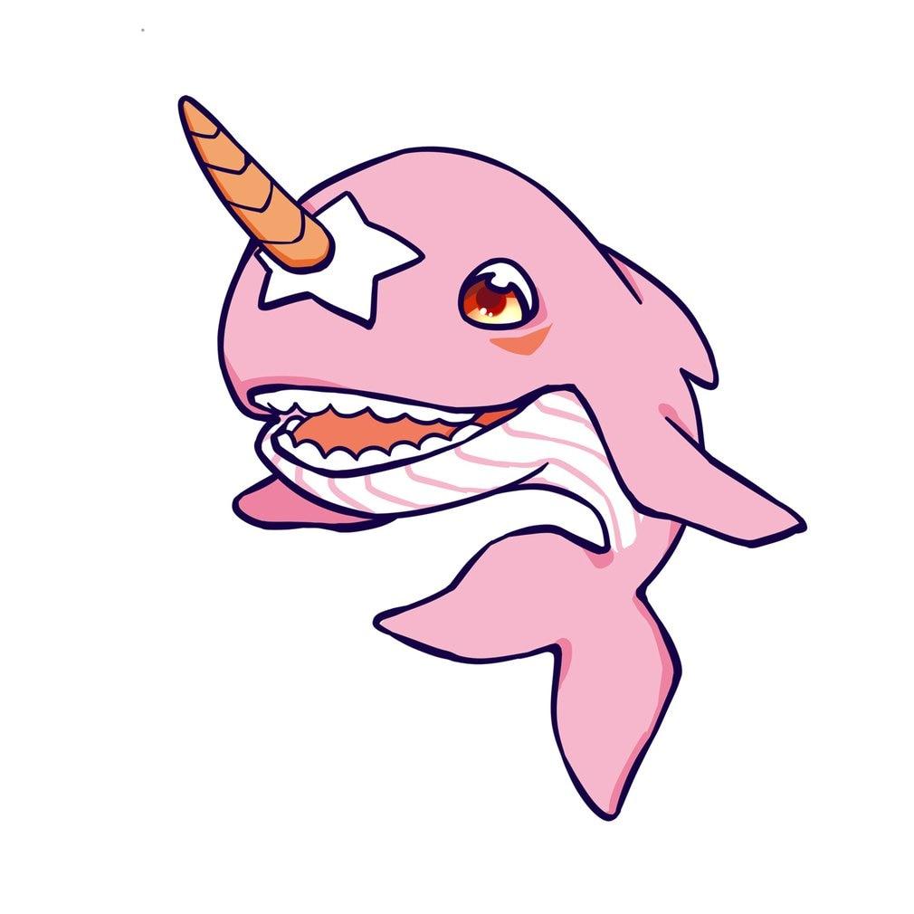 Narwhal Spielzeug Unicornio Plüsch Aquatic Aniamal Spielzeug Weiche Angefüllte Einhorn Horn Whale Werfen Kissen Baby Puppe Fisch Spielzeug Für Kinder Stofftiere & Plüsch