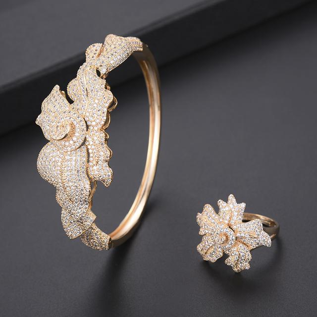 Luxury Leaf Jewelry Set