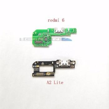 Para Xiaomi A2 Lite/Redmi 6 cargador USB puerto de carga cinta Flex Cable Micro conector de base USB Reparación de piezas de repuesto