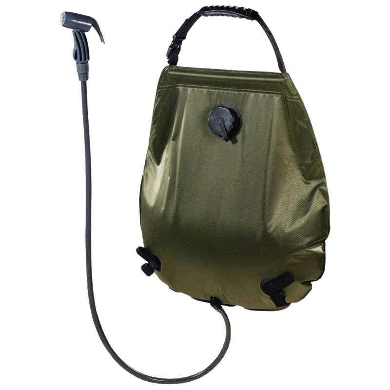 20L/5Gallons Solar Shower Bag Water Storage Camping Showering Bag Large Volume Container For Hiking Climbing Outdoor