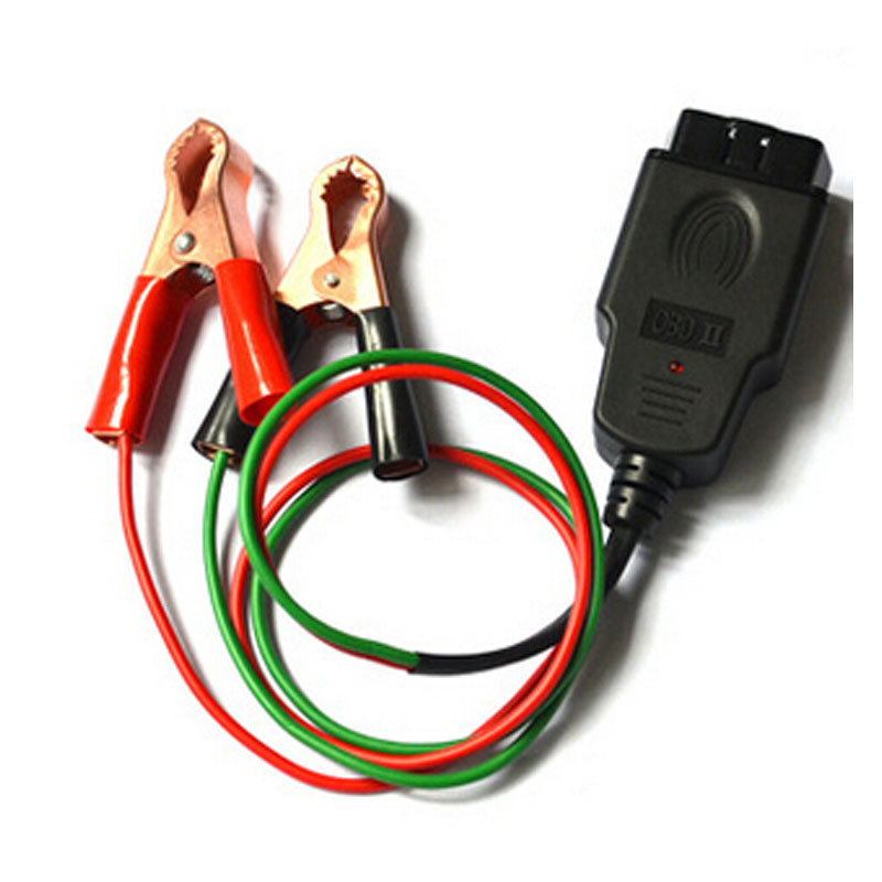 Auto Car OBD II Memory Saver Connector with two clips ECU power protection