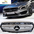 CLA Car Styling ABS Front Mesh Grill Grille for Benz CLA 250 C117 2014-2015
