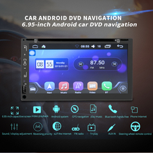 HEVXM Android Car Radio 2 Din Autoradio GPS Navigation 6.95 Inch DVD Player Universal Car Multimedia Player BT FM Stereo Audio цена 2017