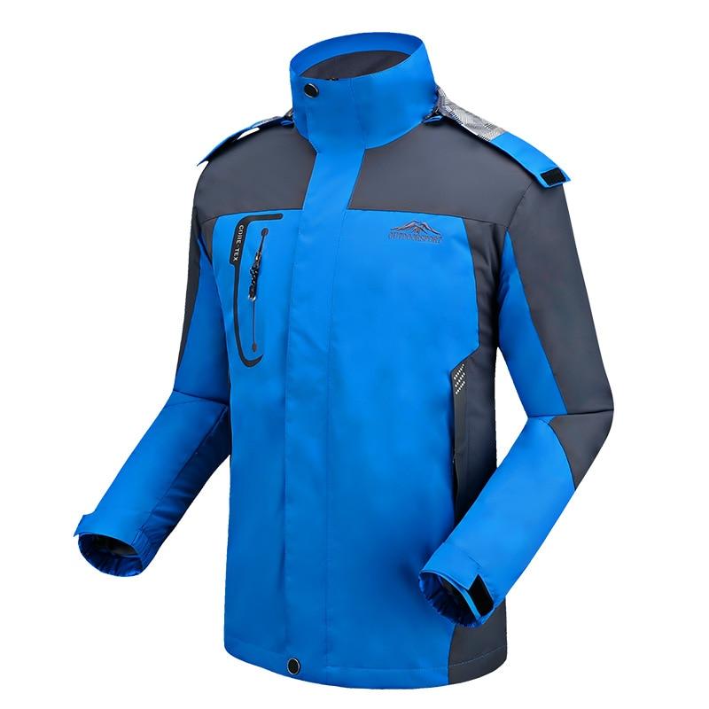 Spomladi jesen moški suknjič moški modni jakni plašč Windbreaker - Moška oblačila - Fotografija 4
