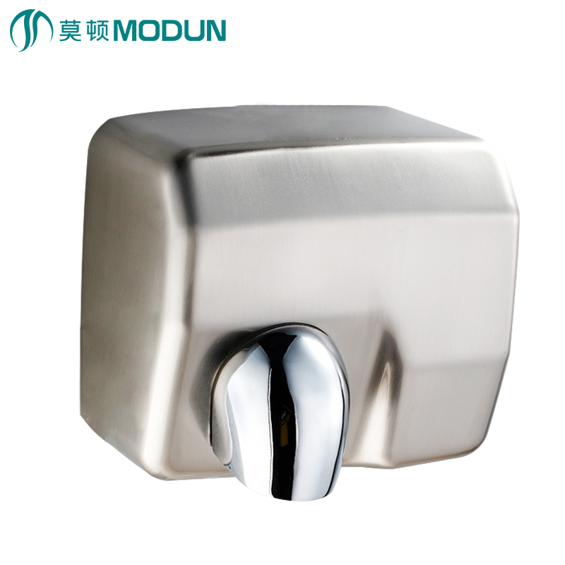 MODUN brand new high speed heavy duty iron finished anti-vandal automatic hand dryer for bathroom commercial modun manufacturer 2300w commercial wall mount high speed automatic hand dryer