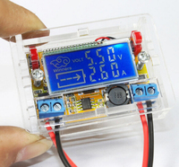 DC DC Adjustable Step Down Stabilized Voltage Supply Module With Display LCD Screen