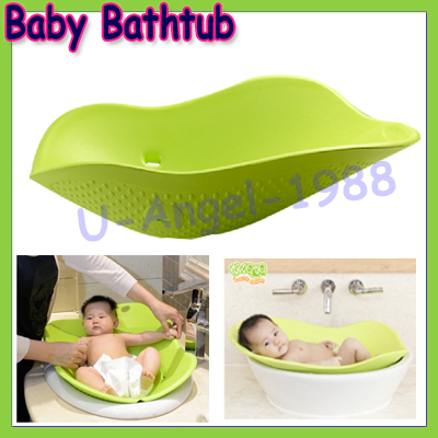 Lazy Mum Portable Baby bathtub ,Eco-friendly Portable Baby Tubs,anti slip safe for 0-6 month baby title=