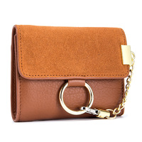 New Fashion Women Wallets And Purse Female Genuine Leather Mini Fresh Folding Coin Pocket Portefeuille Femme