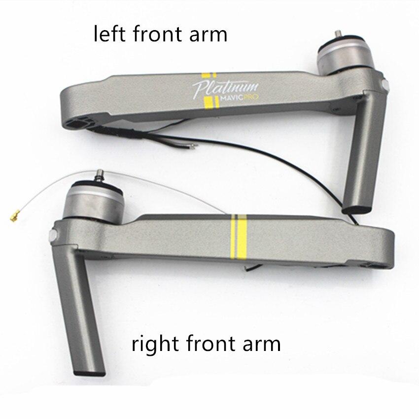 100% tout nouveau Original Mavic Pro platine moteur bras pièces de rechange pour DJI Mavic Pro train d'atterrissage jambe bras réparation remplacement-in Train d'atterrissage from Electronique    1
