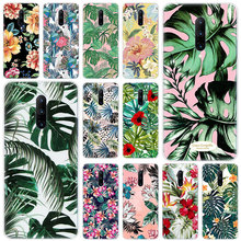 Hot Floral Plantas Leaves Soft Silicone Fashion Transparent Case For OnePlus 7 Pro 5G 6 6T 5 5T 3 3T TPU Cover