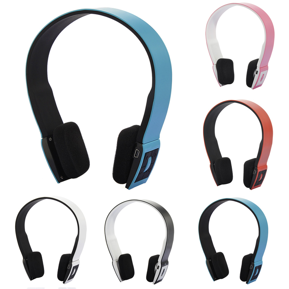 все цены на 5 Colors Sports Bluetooth Wireless Headset Stereo Headband Bluetooth Headphone Auriculares Earphone with Mic For Mobile Phone онлайн