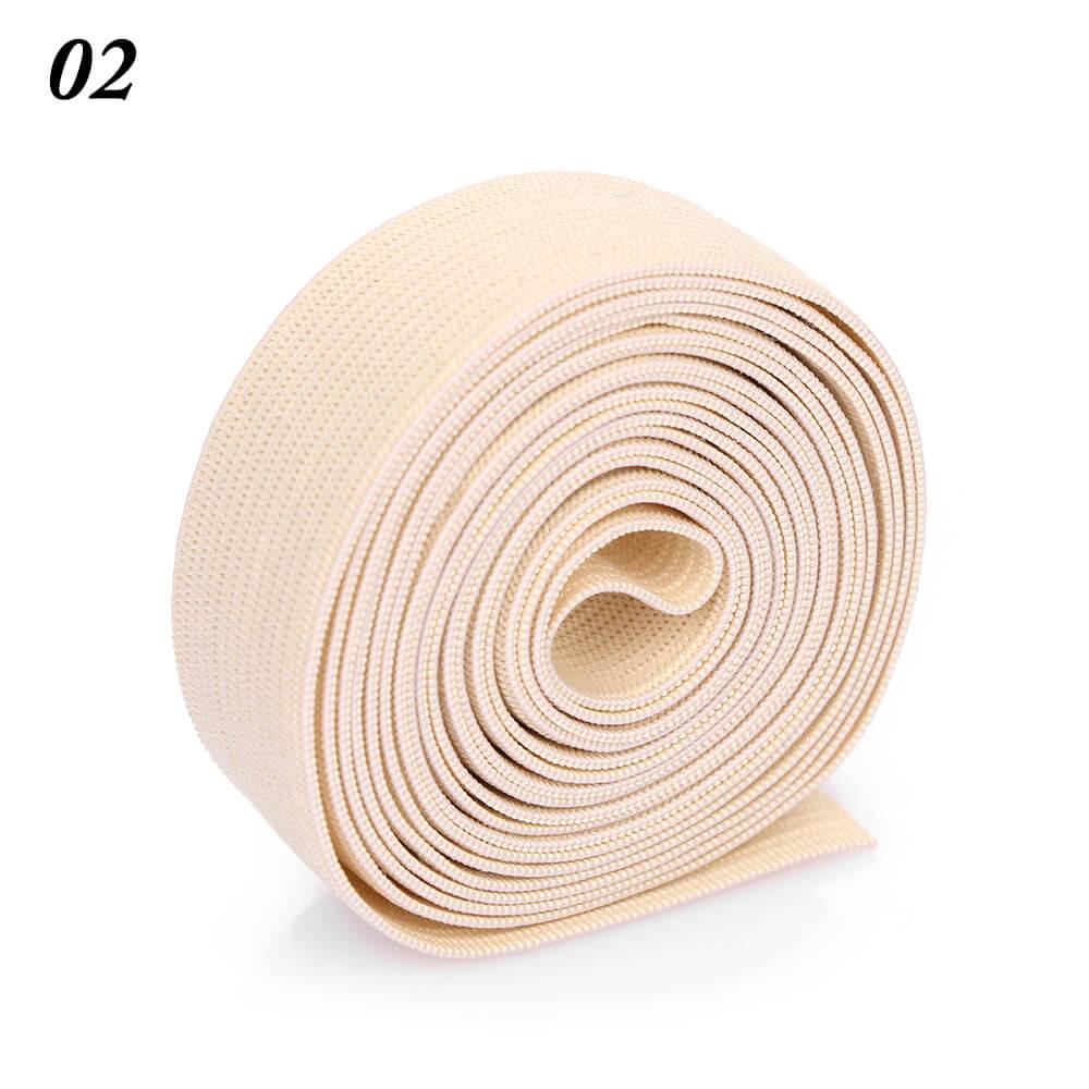 2 м/рулон многофункциональная эластичная лента плотная плетеная резинка из полиэстера шитье из кружева отделка ленты для талии аксессуары для одежды домашний текстиль - Цвет: 2