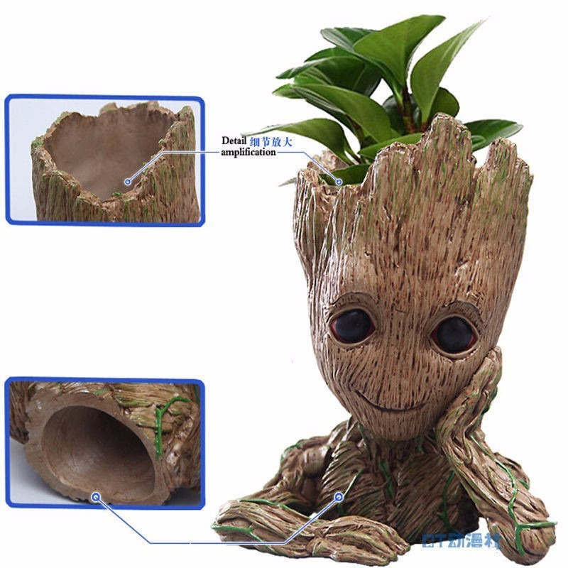 Tree Hugs Felpa Pullover Guardians Fun Groot BABY Tree root of the Galaxy