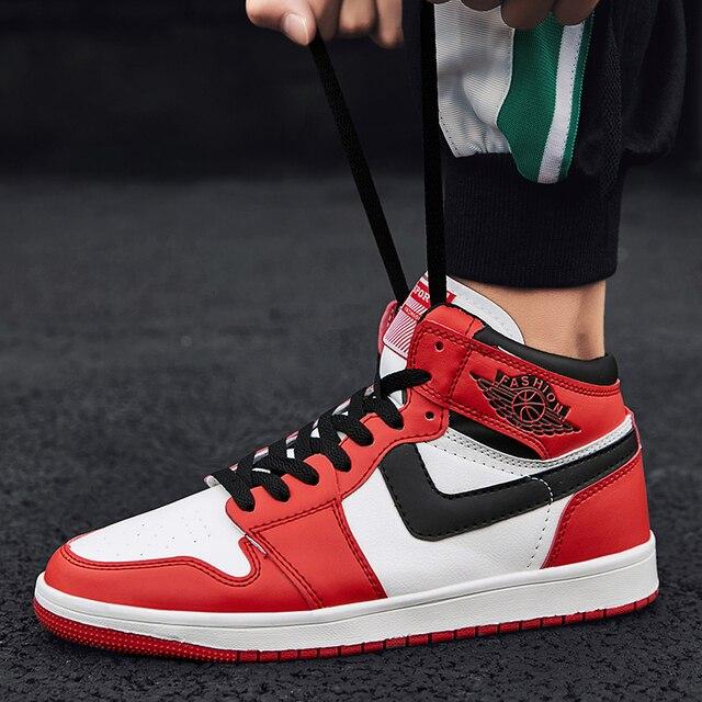 2d9d5391e0d0 Shoes Men Sneakers AJ Shoes Famous Super Stars Hip Hop AJ Shoes Basket  Homme Casual Footwear Skatebording Shoes Boots Zapatilla