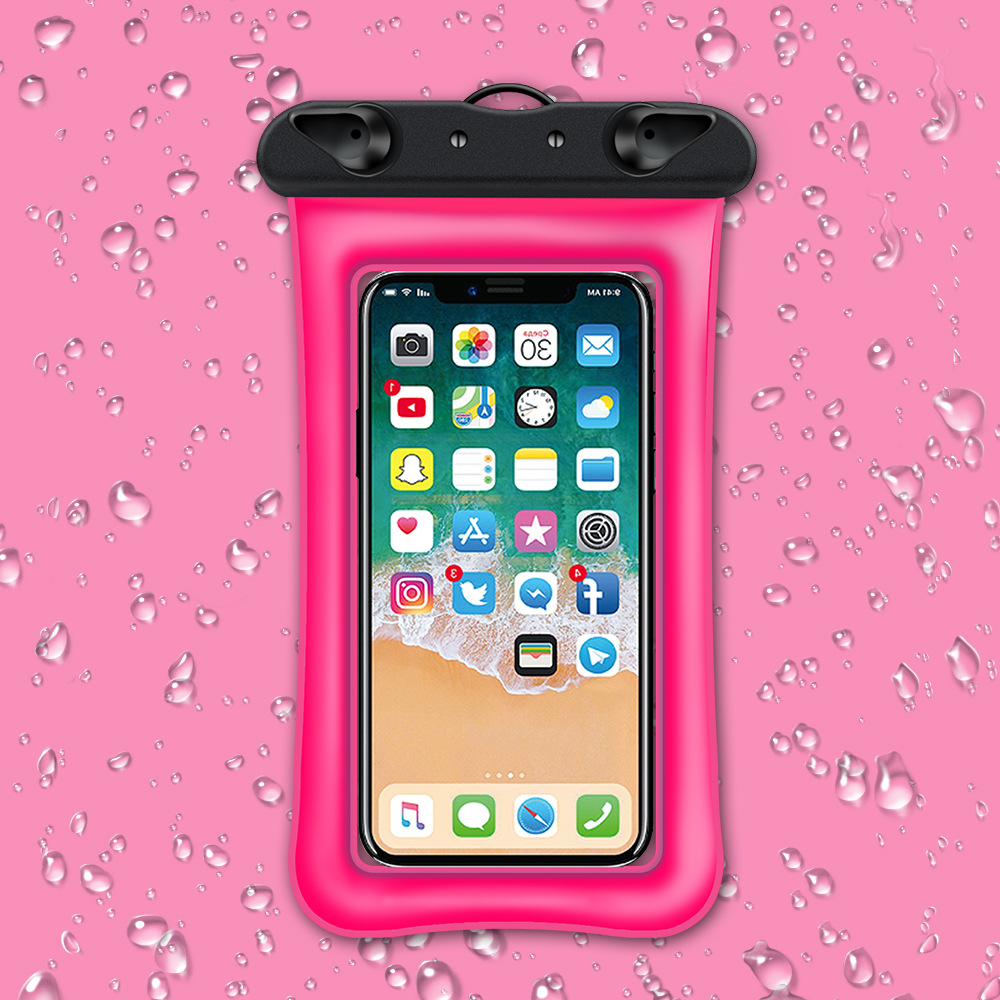 Waterproof floating phone case pouch 3