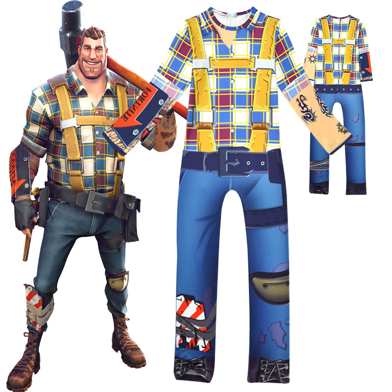 Fortnite Cosplay Costume for Kids
