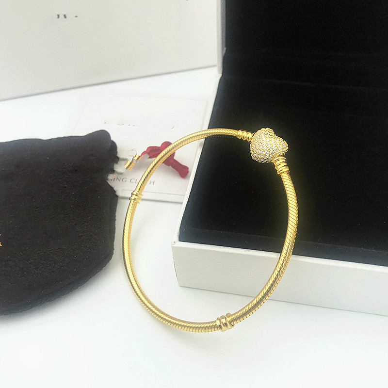 Not Fade femme 2019 women bangle fine Pandora bracelets lady chain jewelry gifts,Not Fade femme 2019 women bangle fine Pandora bracelets lady chain jewelry gifts,