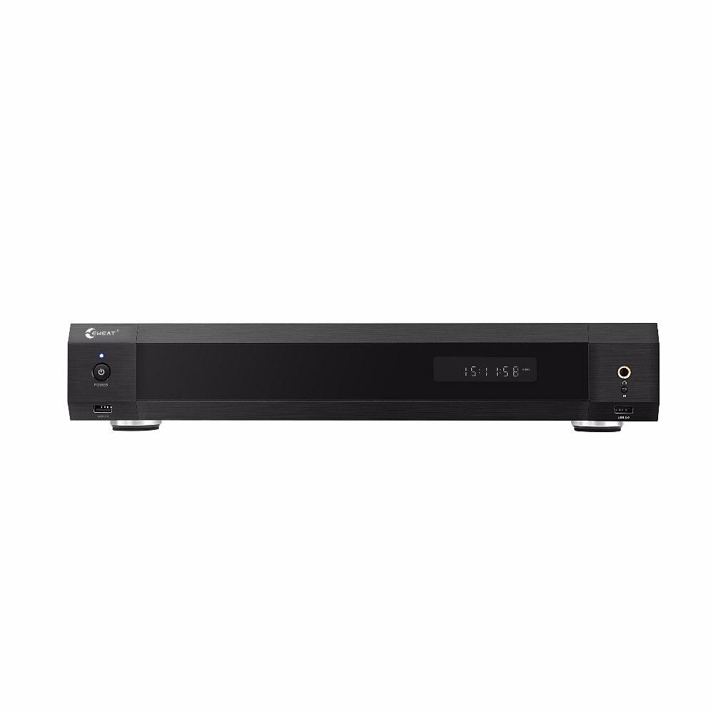 EWEAT R11 4 K HiFi niveau de fièvre Blue-ray HDD media palyer double HDMI audio et vidéo séparation smart tv home cinéma système de son