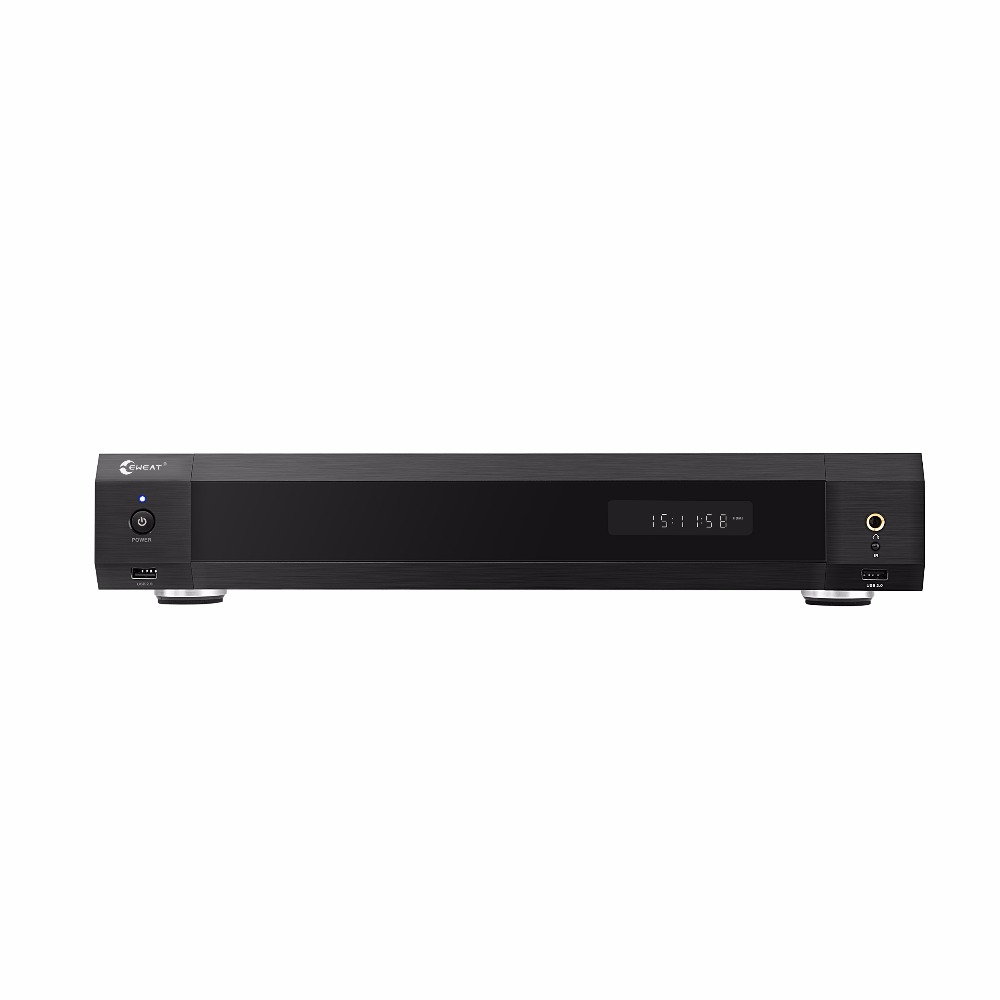 EWEAT R11 4K HiFi Fever level Blue-ray HDD media palyer Dual HDMI audio & video separation smart tv home theater sound system