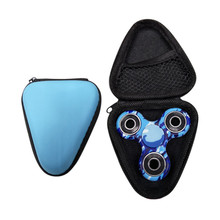2017 Travel Accessories Suitcase Box Case For Dustproof LED lamp Hand Spinner EDC Fidget Spinner Focus Fingertip Gyro Kids Toys