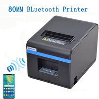 Xprinter 80mm thermal printer Bluetooth port kitchen printer with Automatic Cutter For takeaway Milk tea shop