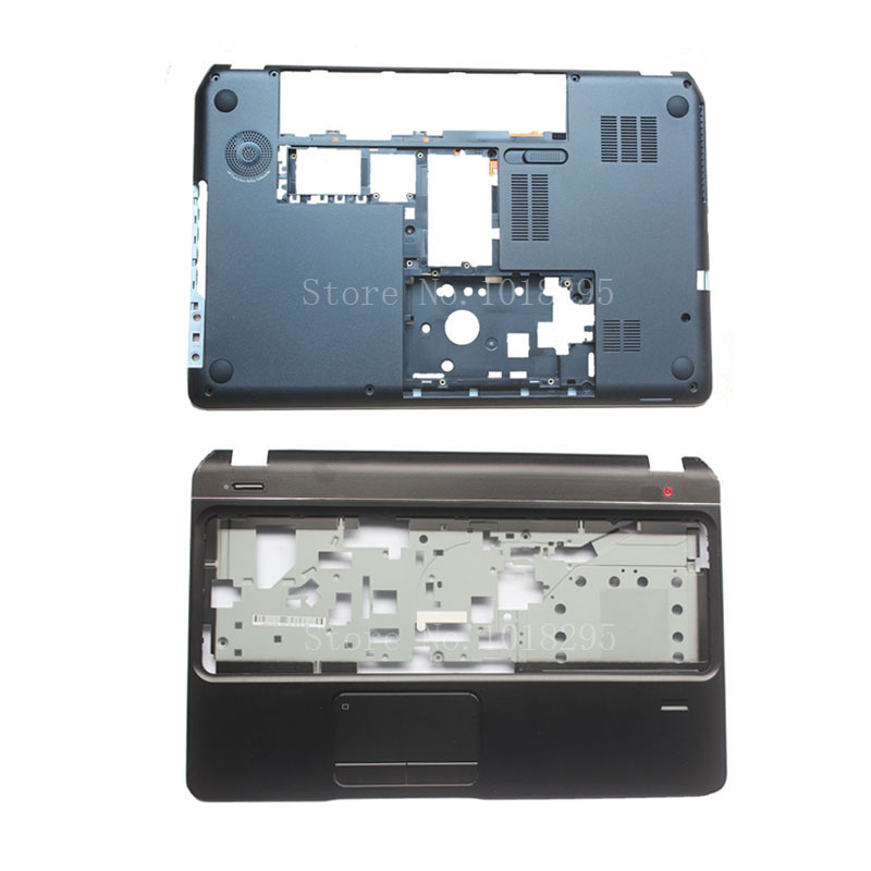 Bottom Base Case Cover&Palmrest upper case cover for HP Envy Pavilion M6 M6-1000 707886-001 AP0U9000100