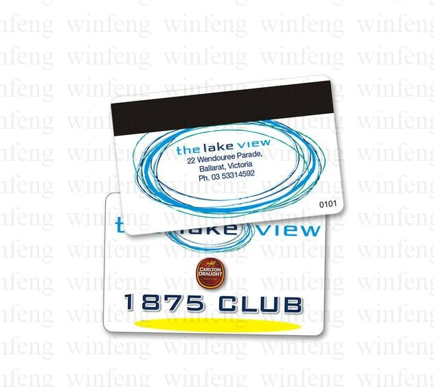 custom design ISO14443A proximity contactless 13.56mhz FM1108 chip magnetic plastic PVC loyalty gift card turck proximity switch bi2 g12sk an6x
